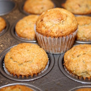 Best Ever Banana Muffins | urbnspice.com