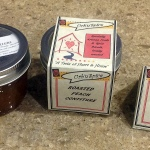 Roasted Peach Confiture with Rosemary and Brandy | urbnspice.com