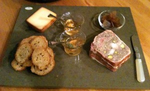 A Charcuterie Platter with Urbnspice white port and white balsamic jelly | urbnspice.com