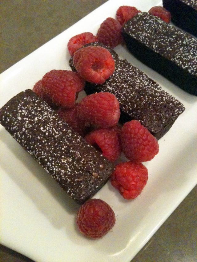 Chocolate Financiers - gluten free | urbnspice.com