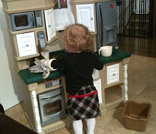 Little Ones Hard at Playing - This is their work | urbnspice.com
