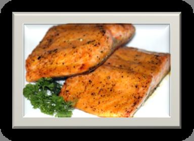 Orange Glazed Salmon | urbnspice.com