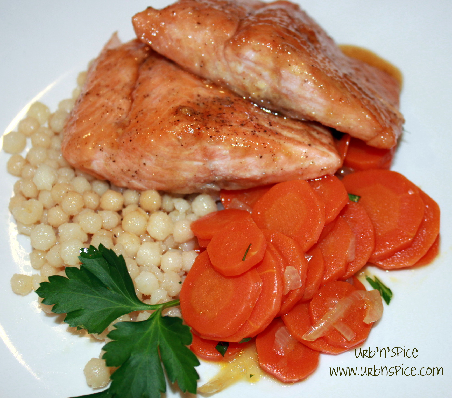 Pot Latch Salmon Papillote | urbnspice.com