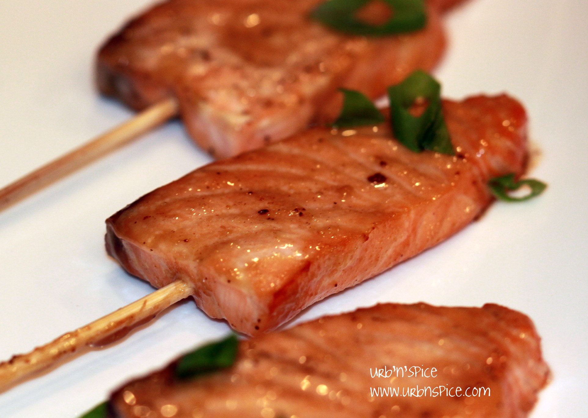 Potlatch Atlantic Salmon Skewer - Appetizer | urbnspice.com