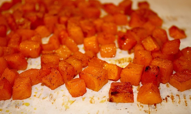 Roasting the Butternut Squash | urbnspice.com