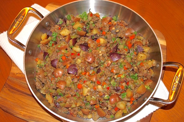 Sausage & Potato Gluten Free Stuffing | urbnspice.com