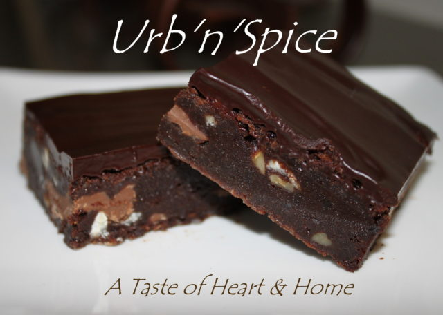 UrbnSpice's Ultimate Quadruple Brownie | urbnspice.com