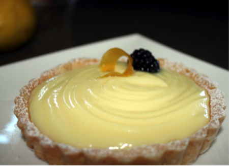 White Chocolate Lemon Curd Tart | urbnspice.com