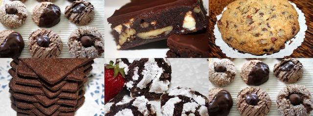 Chocolate Desserts from the Cookbook Series | urbnspice.com