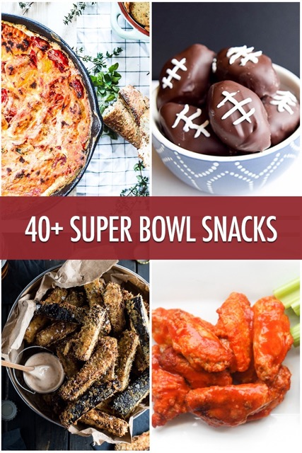 40+ Super Bowl Snacks | urbnspice.com