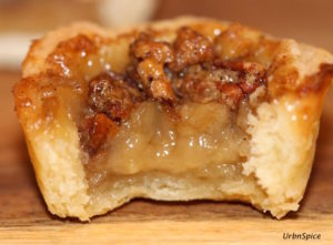 Maple Butter Pecan Tartlet | urbnspice.com