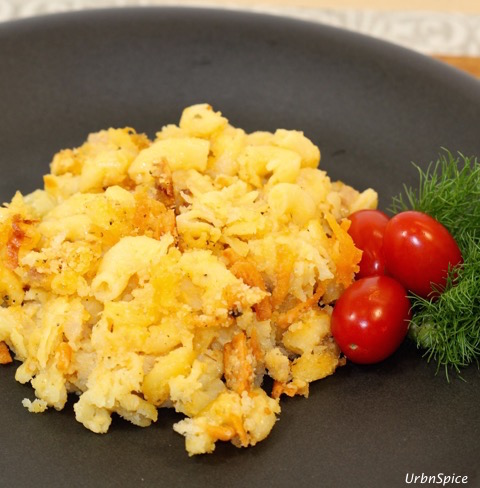 Plated Mac and Cheese | urbnspice.com
