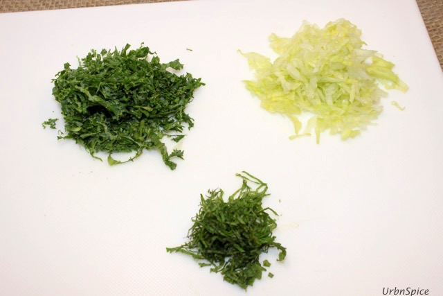 How to Chiffonade: A selection of chiffonade items | urbnspice.com