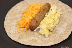 Breakfast Burritos: Assembly of Breakfast Burritos | urbnspice.com