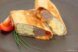 Sausage & Egg Breakfast Burritos | urbnspice.com