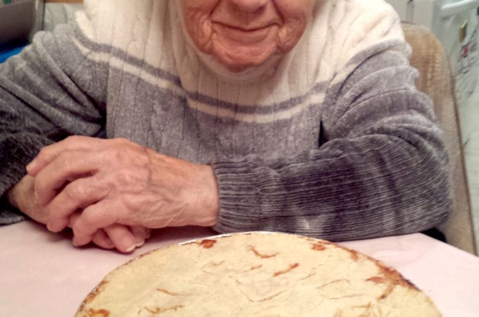 Mom and her Tourtiere | urbnspice.com