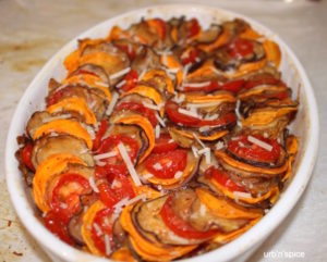 Baked Vegetable Tian | urbspice.com