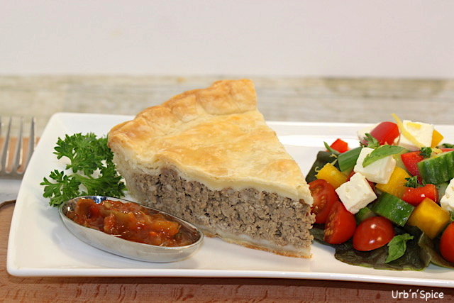 Plated Tourtiere | urbnspice.com