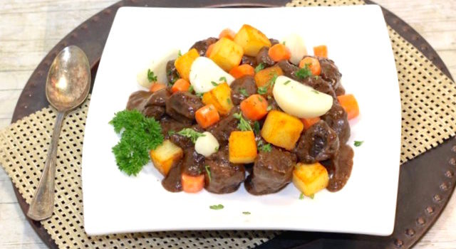 How To Make a Classic Braised Beef Stew