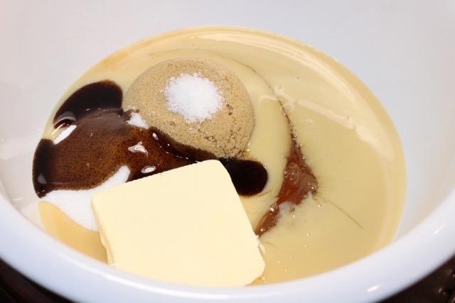 Salted Vanilla Caramel mise-en-place   urbnspice.com
