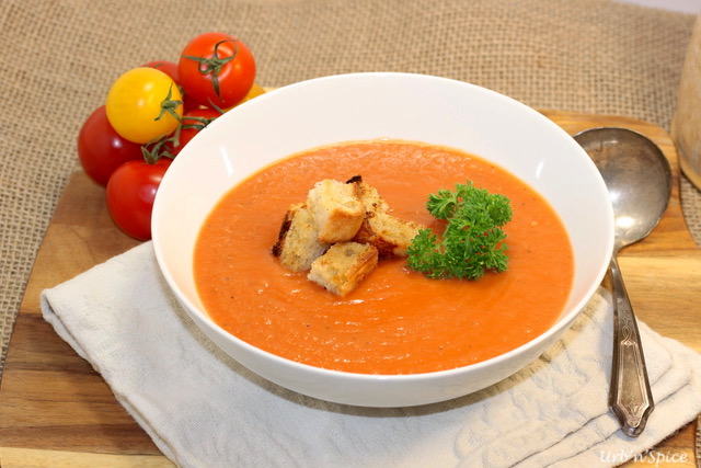 Tomato Potato Soup | urbnspice.com