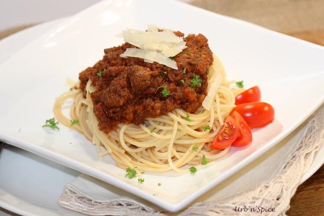 Date Night Spaghetti Sauce | urbnspice.com
