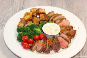 Pan Roasted Duck Breasts With Orange Vanilla Glaze Urbnspice