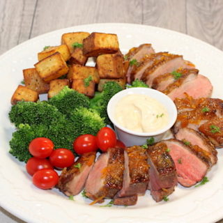Duck Breast Platter | urbnspice.com