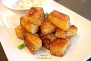 Duck Fat Roasted Potatoes | urbnspice.com