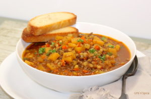 Blenditarian Hamburger Soup | urbnspice.com