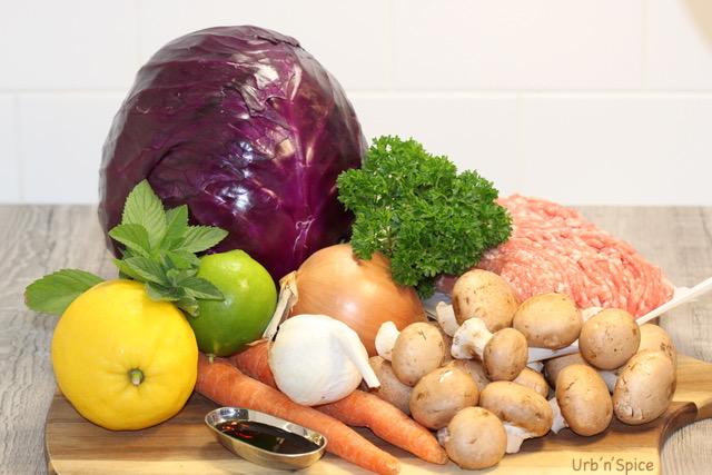 Blenditarian Pork and Vegetables Ingredients   urbnspice.com