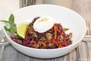 Savoury Blenditarian Brunch Pork with Vegetables & Fine Herbs   urbnspice.com