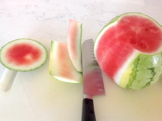 Watermelon Cutting Tutorial   urbnspice.com