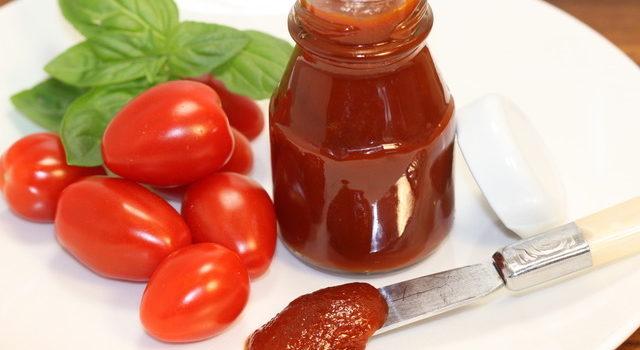 Homemade Grape Tomato Ketchup