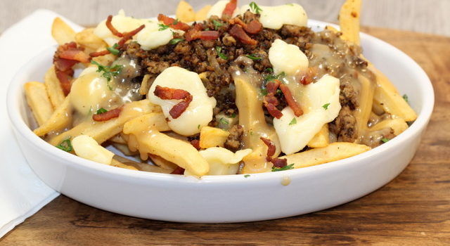 All-Canadian Poutine with a Blenditarian Twist