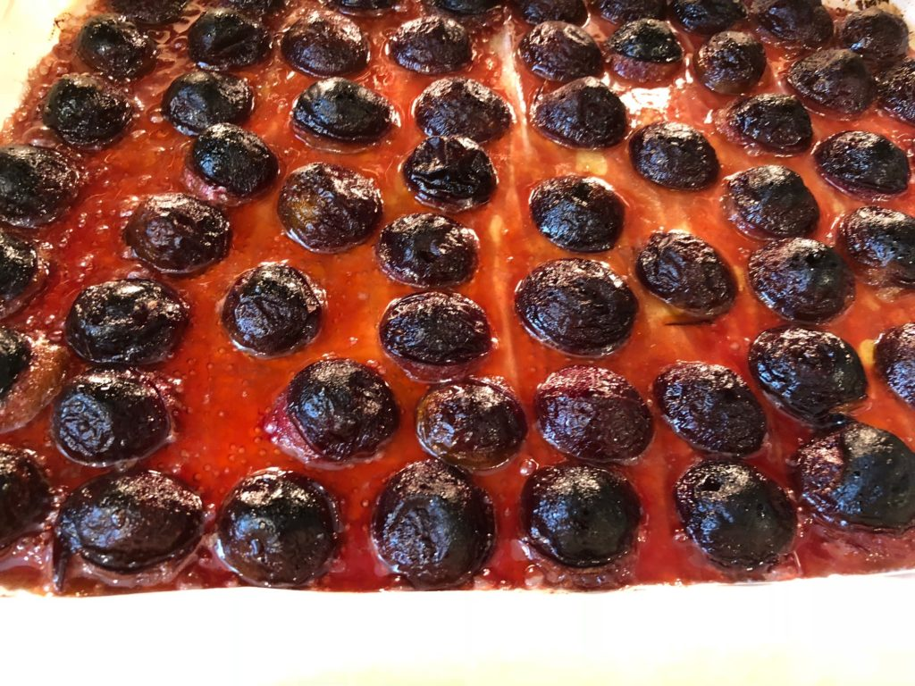 Prune Plums are caramelized | urbnspice.com