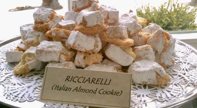 Ricciarelli – An Italian Almond Cookie