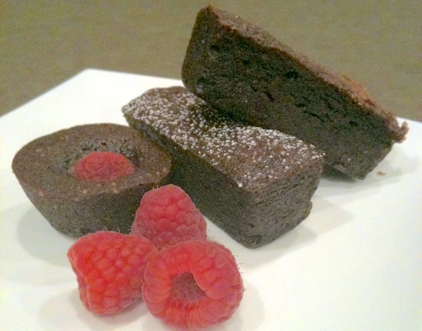 Chocolate Financiers | urbnspice.com