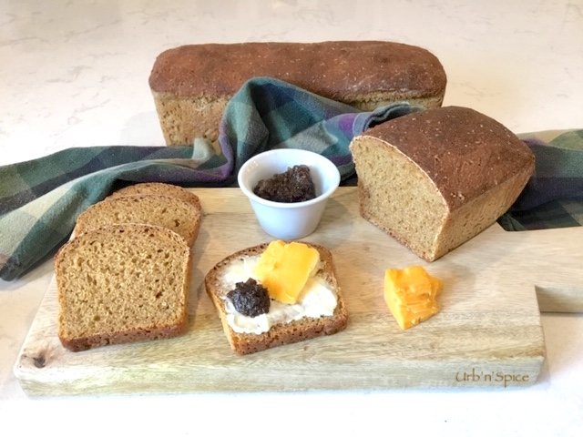 Irish Treacle Brown Bread | urbnspice.com