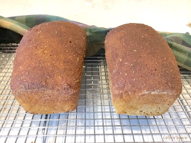 Irish Treacle Brown Bread mini loaves | urbnspice.com