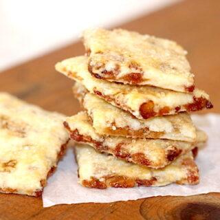 A stack of Golden Raisin Biscuit Cookies | urbnspice.com