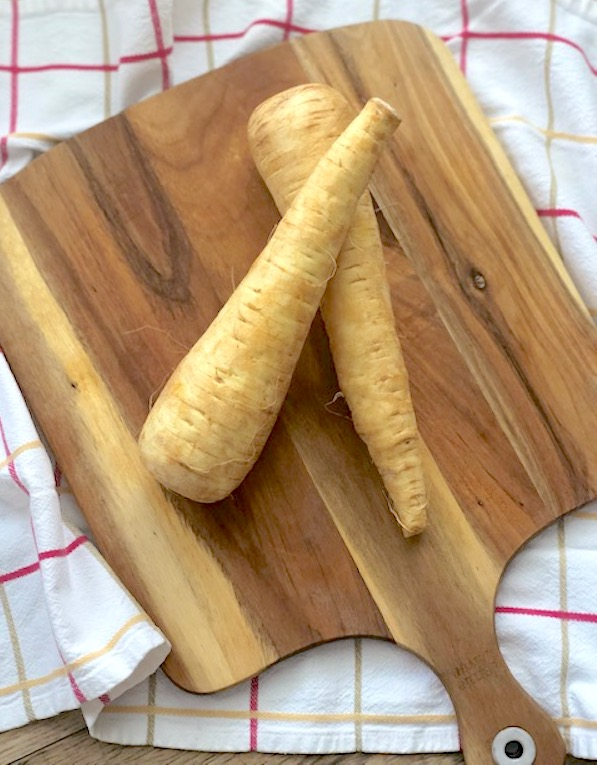 Parsnips on a Board | urbnspice.com